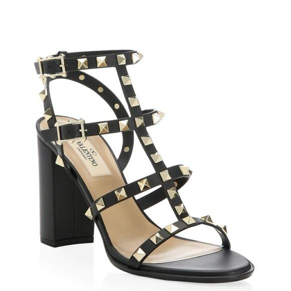 d375665b3bd New Valentino Garavani Rockstud  T-Strap Sandal